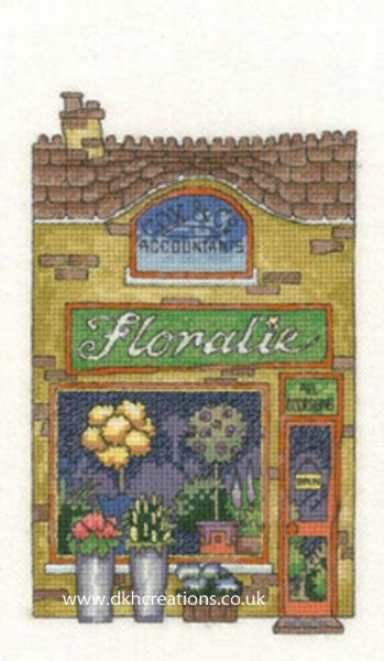 Floralie Shop Cross Stitch Chart